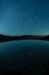 天と池にもオリオン2