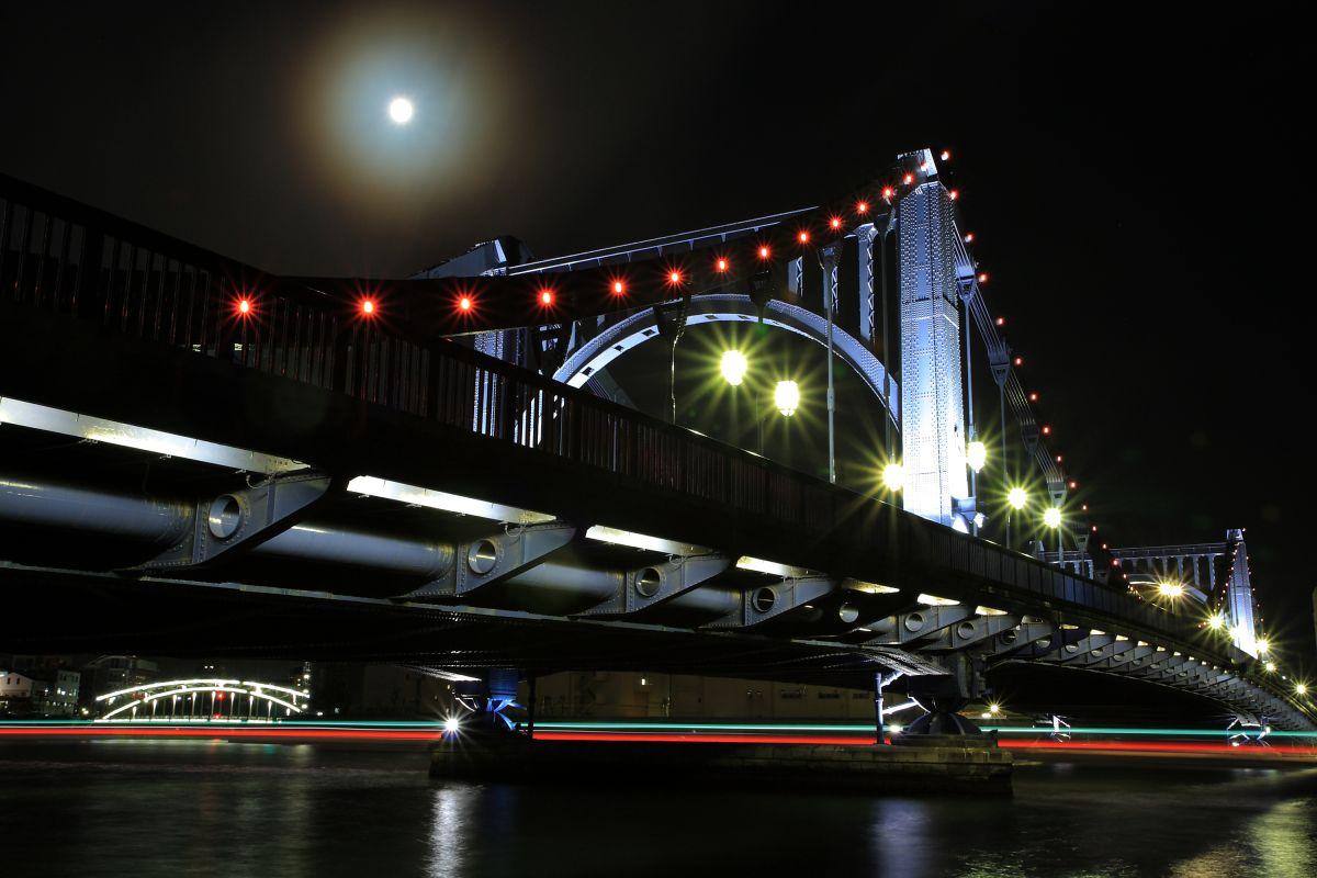 清洲橋Night View | 街並み・建物 > 夜景 | GANREF