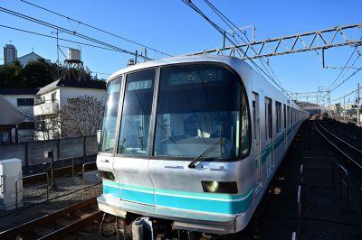 多摩川駅にて