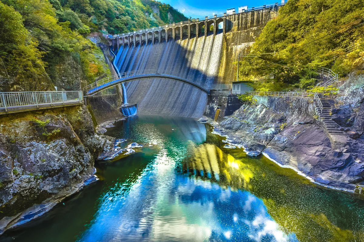 神戸市 千刈ダム   自然・風景 > 湖沼   GANREF