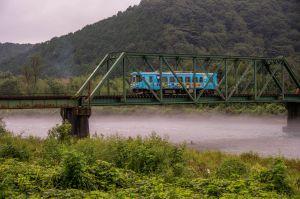 朝霧の樽見鉄道