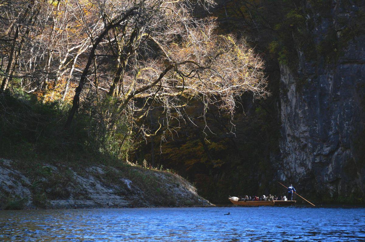 いび 渓 舟 下り げ 岩手の猊鼻渓と厳美渓について