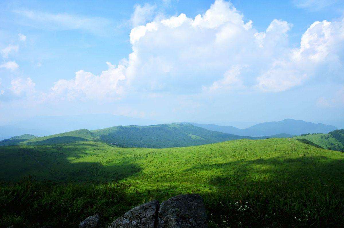 天然のwindows xp壁紙 自然 風景 高原 Ganref